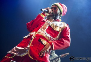 Warm up before the King of Fire aka Capleton 2